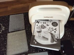 Hobbycraft starter kit die cutting and embossing machine+40 dies /embossers