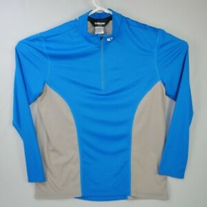 Pearl Izumi Men's Cycling Jersey Size X-Large Long Sleeve Polyester 1/4 Zip