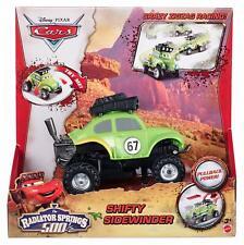 Disney Pixar Cars Radiator Springs 500 Wild Racer Shifty Sidewinder Pullback Toy