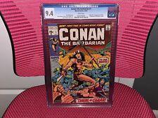 Conan the Barbarian #1 CGC 9.4 White Pages Origin & 1st App Conan King Kull