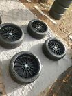 BMW style 32 staggered wheels and tires. Practically brand new Michelin PS4S'.