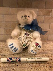 HRH Prince George Teddy Bear Limited Edition by Hermann Spielwaren - 40/500