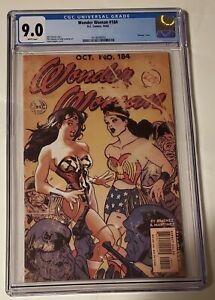 Wonder women#184 cgc 9.0 (Adam hughes variant) VHTF🔥🔥🔥🔥