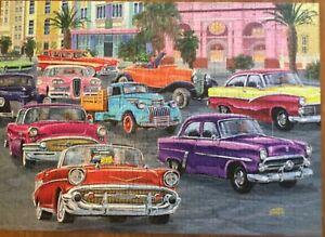 Ravensburger Puzzle, 500 Pieces, Cruisin' Havana, Large pieces, Nostalgic