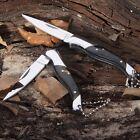Couteau de Poche, Canif Pliant, Manche Noir / Pocket Knife,Folding, Black Handle
