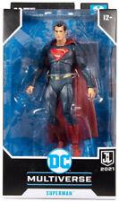 "Dc Multiverse Snyder Justice League 7""Figure Superman Red/Blue Target Exclusive"