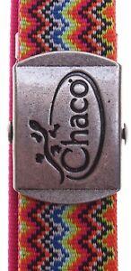 """Chaco Unisex ReversiBelt Webbing Belts: Zag/Rose (47"""")"""