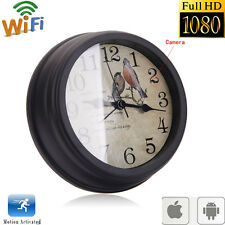 New Wireless HD 1080P Camcorder Alarm Clock DVR Motion Digital Video Nanny Cam