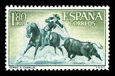 "Bullfighting Spain Stamp Poster #13 Canvas Art Poster 16""x 24"""