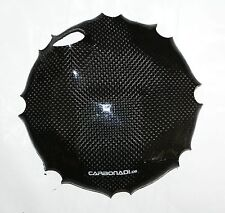 SUZUKI TL1000 CAGIVA RAPTOR 1000 CARBON KUPPLUNGSDECKEL ENGINE COVER CARBONE