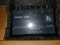 Kramer 4x1VB Mechanical Video Switcher