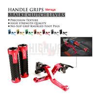 for KAWASAKI Versys 650 09-14 Adjustable Brake Clutch Levers CNC Handle Grips