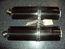 08 09 10 11 Suzuki GSX 1300 Hayabusa Carbon Fiber Bolt On Exhausts #726