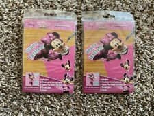 Lot of 2 Disney Minnie Mouse Happy Birthday Party Invitations Save the Date