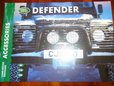 Land Rover Defender Accessories brochure 2000 ref LRML 1427