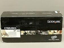 Lexmark C782U2KG Black XL Extra High Yield Toner Cartridge C782XL New Sealed Box
