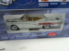 1:18 Sun Star Platinum #4821 1955 Buick Limited Wells Fargo Convertible White
