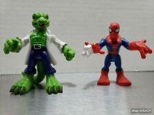 Super Hero Squad Marvel Spider-Man vs The Lizard Villain Hasbro
