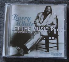 Barry White, let the music play - the greatest hits, CD