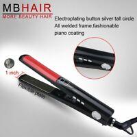Hair Straightener Flat Iron Remington Wet Straight 1 Inch Steam Vents Ceramic BP