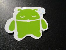 """ANDROID DROID Andy bot sleepy robot logo Sticker 2"""" Google andrew bell"""