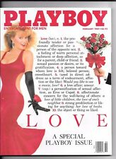 Back Issue February 1989 Playboy Magazine ~ Michelle Smith Cover ~ FINE
