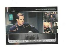 2002 STAR TREK ENTERPRISE SEASON ONE P1 PROMO CARD FREE SHIPPING