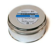 Fomapan 100 Black and White 35mm Camera Film. 100ft 30.5m Bulk Roll. Long Dated.