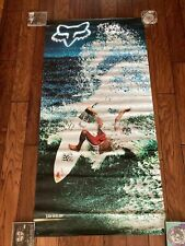 Double Sided Fox Motocross Vinyl Banner Ian Walsh Surfing 30x60�
