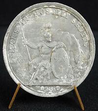 Médaille Louis XIV Campagne de 1696 Dieu God Mard armé et casqué , cheval medal
