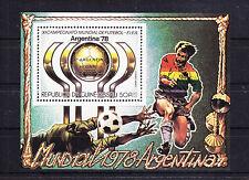"""Guinea-Bissau Bl.119aA mit 506 ** postfr., """"Fußball WM 1978 Argentinien"""" -RH571"""