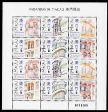 MACAO MNH 1997 SG1000-05 Balconies Sheet