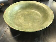 Southern Living at Home Willow House Santorini Bowl distressed green