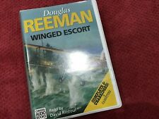 Douglas Reeman 8 Cassette Audio Book WINGED ESCORT Read By David Rintoul 9hrs