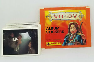 1988 PANINI * WILLOW * ALBUM STICKERS COMPLETE STICKER SET OF 240 + WRAPPER *