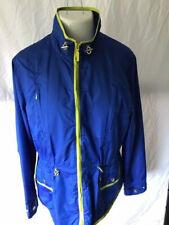 Jones NY Women's XL Royal Blue Shell --drawstring waist, patch pockets--Jacket