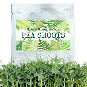 Organic Microgreen Sprouting Pea Seeds