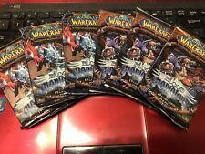 6x Blood of Gladiators World of Warcraft TCG Sealed Booster Packs WoW loot?