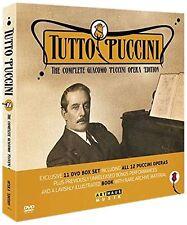 COFANETTO DVD - GIACOMO PUCCINI - TUTTO PUCCINI (11 DVD) - NUOVO!!