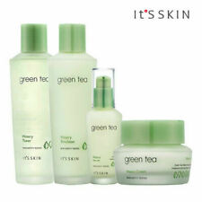 [IT'S SKIN] Green Tea Watery Toner / Emulsion / Serum / Cream  (SET)
