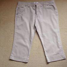 Cotton Capri, Cropped Trousers for Women