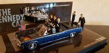 1/43 Minichamps Présidentielle Lincoln Continental X-100 Kennedy 1963 RARE NEUVE