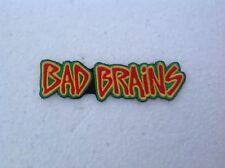 Bad Brains Embroidered Patch Hardcore Punk Reggae PMA Rock For Light I Against I
