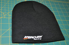 Mercury Racing BEANIE With White Sticker DECAL Race Boat Outboard