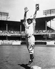 1947 Brooklyn Dodgers JACKIE ROBINSON Glossy 8x10 Photo Print Baseball Poster