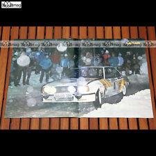 ANDERS KULLANG et son OPEL ASCONA 400 au RALLYE MONTE-CARLO 1980 - Poster #PM432