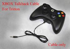 XBOX live cable for Tritton AXPro V2, AX720, AX180, AX120 2.5 to 3.5mm talkback