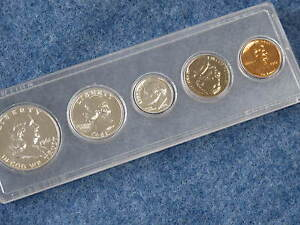1961 US Silver Proof Set in Whitman Lucite B9235