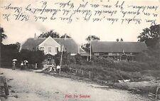SNOGHOJ DENMARK DANEMARK PARTI FRA POSTCARD c1906