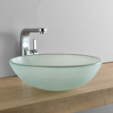Badezimmer Das Waschtische Becken Aus Glas Ebay